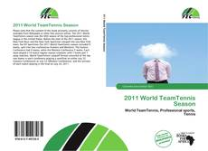 Bookcover of 2011 World TeamTennis Season
