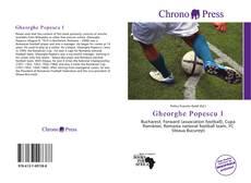 Bookcover of Gheorghe Popescu I