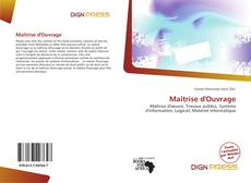 Bookcover of Maîtrise d'Ouvrage