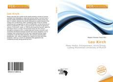 Leo Kirch kitap kapağı