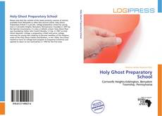 Capa do livro de Holy Ghost Preparatory School