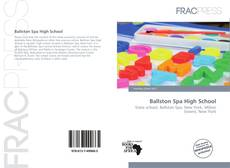 Bookcover of Ballston Spa High School