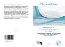 Capa do livro de Francisco Villagrán Kramer