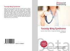 Bookcover of Taussig–Bing Syndrome