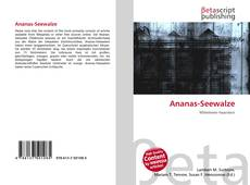 Bookcover of Ananas-Seewalze