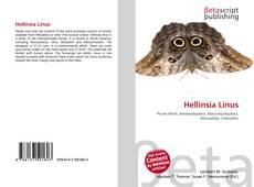 Capa do livro de Hellinsia Linus