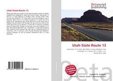 Copertina di Utah State Route 13