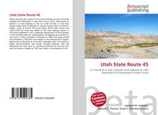 Bookcover of Utah State Route 45