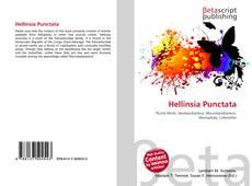 Bookcover of Hellinsia Punctata
