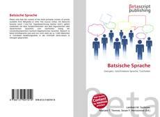 Buchcover von Batsische Sprache