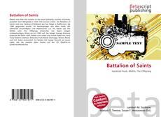Battalion of Saints kitap kapağı