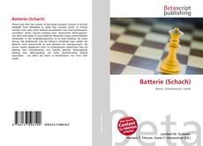 Copertina di Batterie (Schach)