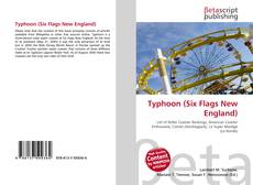 Capa do livro de Typhoon (Six Flags New England)