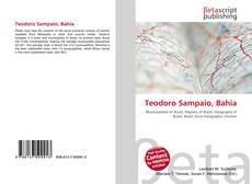 Bookcover of Teodoro Sampaio, Bahia
