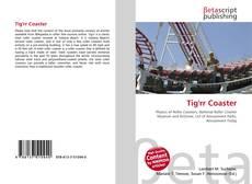 Capa do livro de Tig'rr Coaster