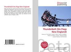 Capa do livro de Thunderbolt (Six Flags New England)