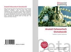 Buchcover von Anatoli Felixowitsch Osmolowski