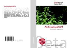 Bookcover of Andienungspflicht