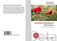 Capa do livro de Anastasia Nikolajewna Romanowa