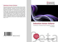 Обложка Sebastian Anton Scherer