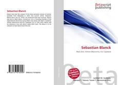 Capa do livro de Sebastian Blanck