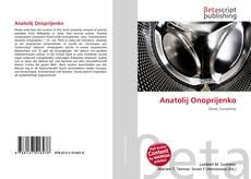 Capa do livro de Anatolij Onoprijenko