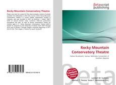 Capa do livro de Rocky Mountain Conservatory Theatre