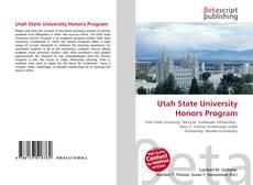 Utah State University Honors Program的封面