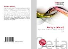 Обложка Rocky V (Album)
