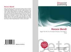Bookcover of Rococo (Band)