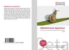Capa do livro de Babelomurex Japonicus