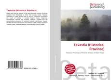 Buchcover von Tavastia (Historical Province)