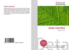 Borítókép a  Andor Lilienthal - hoz