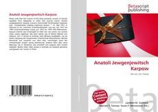 Buchcover von Anatoli Jewgenjewitsch Karpow