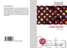 Capa do livro de Andor Hencke