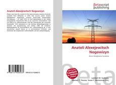 Buchcover von Anatoli Alexejewitsch Nogowizyn