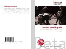 Capa do livro de Tavares Washington