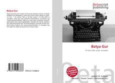 Buchcover von Batya Gur