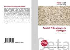 Capa do livro de Anatoli Nikolajewitsch Bukrejew