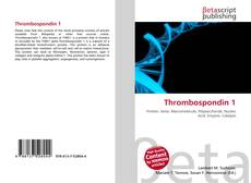Bookcover of Thrombospondin 1