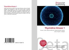 Bookcover of Thymidine Kinase 1