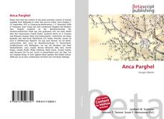 Bookcover of Anca Parghel
