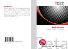 Bookcover of Rod Benson
