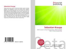 Sebastian Kraupp的封面