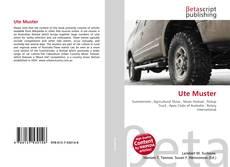 Buchcover von Ute Muster
