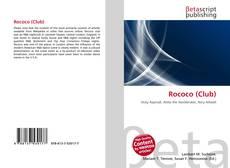 Bookcover of Rococo (Club)