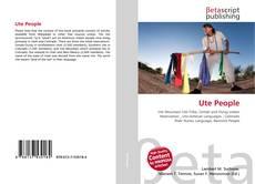 Buchcover von Ute People
