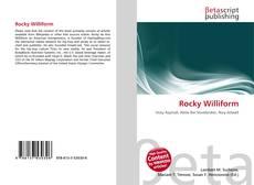 Обложка Rocky Williform