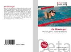Buchcover von Ute Geweniger
