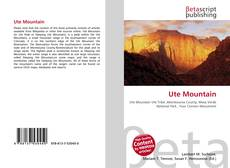 Bookcover of Ute Mountain